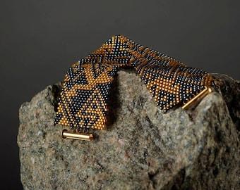 Cuff bracelet Boho bracelet Boho wedding Cuff bracelet gold Chunky bracelet statement Women bracelet ethnic bracelet cuff everyday boho