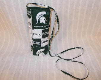 Michigan State Spartans Water or Beer Bottle Cooler