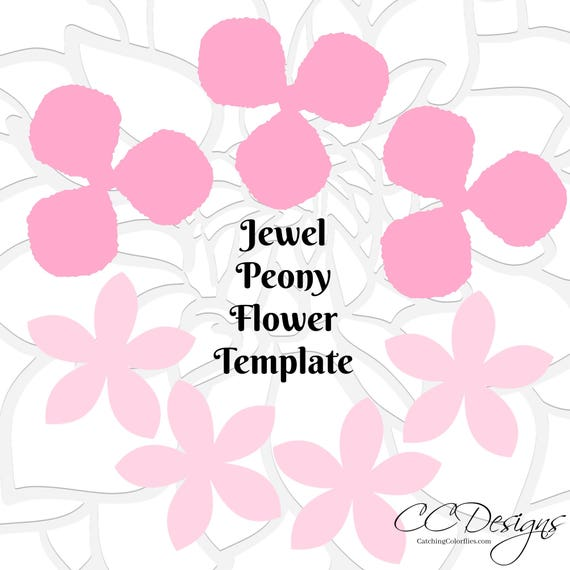 Peony paper flower templates diy small paper flowers svg peony paper flower templates diy small paper flowers svg flower templates printable flower templates easy paper flowers svg cut files mightylinksfo