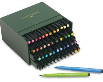 Faber Castell PITT Artist Pen Brush Marker Set (48)