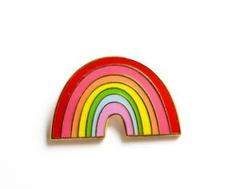 rainbow No. 2 Enamel Pin