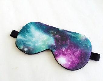 Galaxy Eye mask, Sleep mask, Eye sleep mask, Travel Sleep Mask, Travel mask.