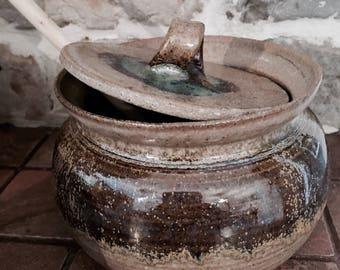 Pottery dish | Honey jar | Serving dish