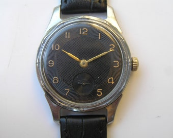 Vintage Soviet Russian USSR Wrist Watch POBEDA 1950 - Serviced