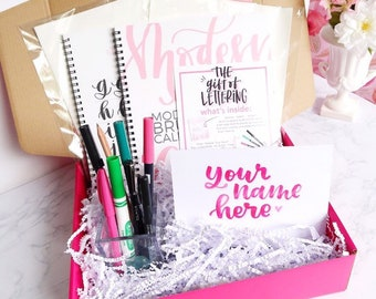 Beginner's Brush Lettering Kit: The Gift of Lettering