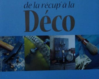 The title of the upcycled book ' Art Deco