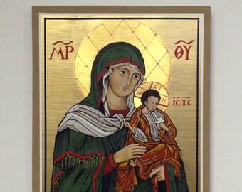 Virgin of Konevitsa, Finland - ICON - ORIGINAL