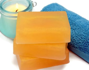 Mayan Gold Soap Bar, Homemade Patchouli Glycerin Soap