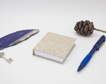 Mini Book Mini Notebook Casebound Small Journal