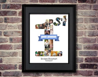 1st Birthday Photo Collage | 1st Birthday Collage | 1st Birthday Gift | 1st Birthday Ideas | 1st Birthday Photo | First Birthday Collage