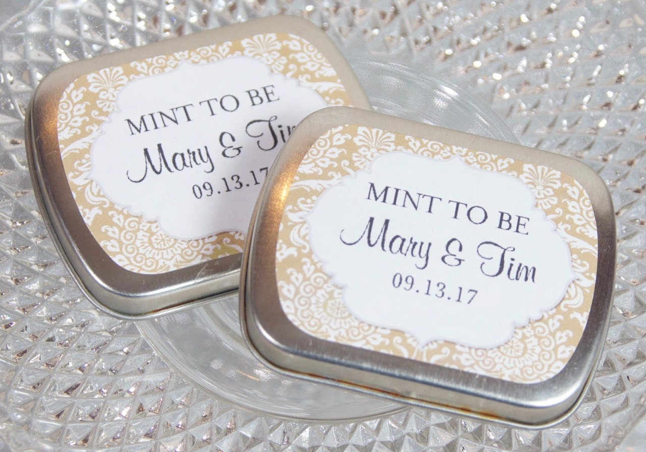 Awesome Wedding Favor Mints Embellishment - The Wedding Ideas ...