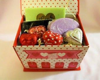 Aromatherapy Valentine's day mini gift box