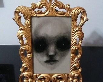 SCARED, Original Framed Artwork