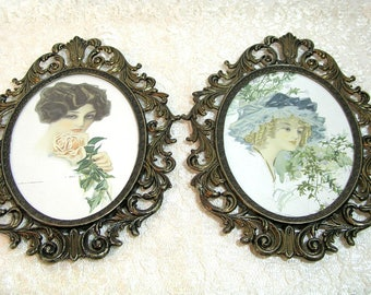 Victorian Lady Framed Prints