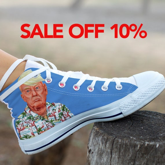 Anti Trump Great Converse Donald Shoes Custom Custom Converse Make Donald Trump High Trump Shoes Top President Trump America Not My vxnq1CW4wf