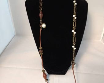 Pearls and Chain