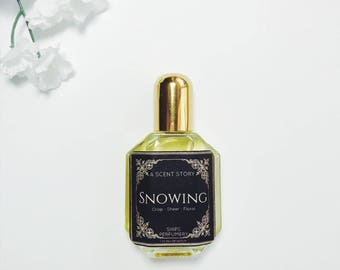 Snowing Women's Fragrance // Once Upon a Time TV show inspired // Natural Fragrance // Gifts for her