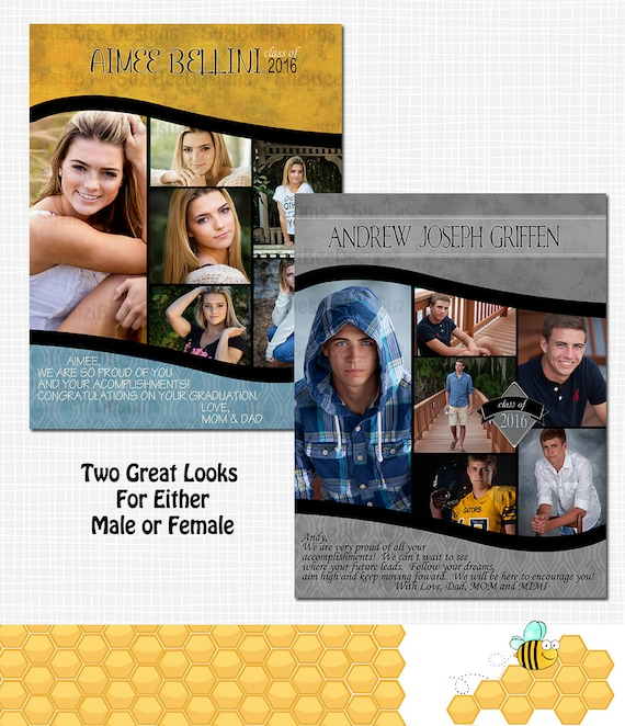 free yearbook ad template - yearbook ad template for high school senior middle school