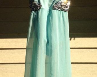 Mint Green Lyrical Dress