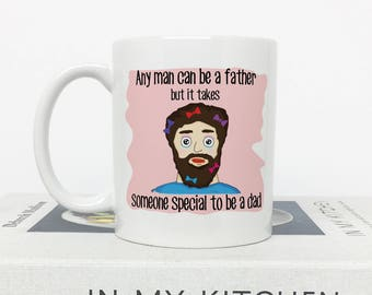 Father Day Gift, Gift for Dad, Dear Dad, Father's Day Gift, Dad Birthday, Funny Fathers Day, Mug for Dad,, greatest Father Ever