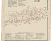 Caln,  PA Witmer 1873 Map...