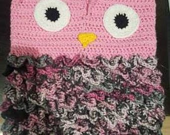 Crocodile Stitch Owl Cocoon