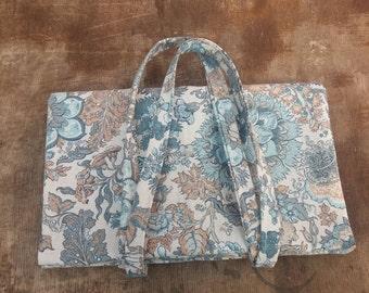 baguette bag, long bread bag ,bread tote ,reusable shopper, breadbag,cotton bread bag, gift idea