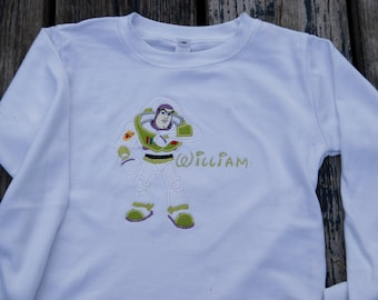 Buzz Applique Shirt, Applique Onesie, Toy Story Shirt, Buzz Shirt, Buzz Lightyear Shirt, Toy Story Buzz, Disney Toy Story, Vacation Shirt,