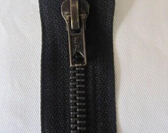 Closure zipper 12 cm black special of Jean