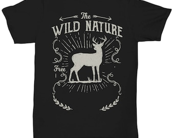 The Wild Nature Deer T-shirt