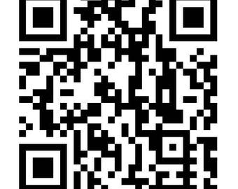 QR Code Car Decal | Scanner | Window Sticker | Website Director