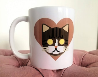 Le Catto 'I Love Tabby' (Limited Quantity) Official Catto Mug