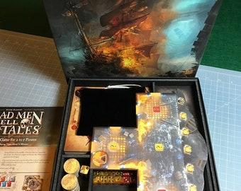 Dead Men Tell No Tales board game foam custom Insert