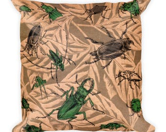 Pillow | American Insects | Victorian Entomology