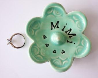 Mimi ring dish - Gift for Mimi - Keepsake Ring Dish -  Gift box included