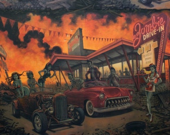 Alexander Henry - A Zombie Drive-In - #8364A - Apocalypse