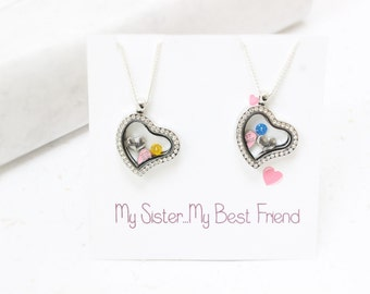 Sister Necklace Set, 2 Sisters Necklace, Best Friend Sister Necklaces, Sister Necklace, Sisters Necklaces, Sisters Necklace, Sister Gifts