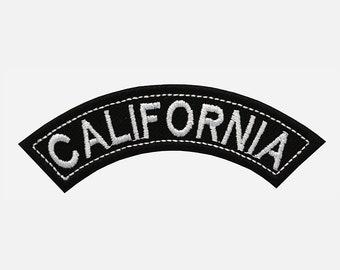 California State Mini Rocker embroidered patch