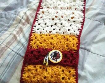 NFL handmade crocheted scarves