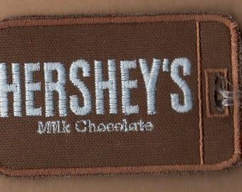 Hershey's Embroidered Luggage Tag
