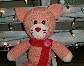 Crochet Cat - Choose Colors