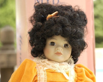 1988 Marian Yu Designs Doll with Certificate of Authenticity and original box