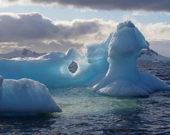 Iceberg in Antarctica - Landscape Photography - Travel Photography - Wall Art
