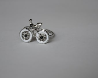 Bicycle Silver Adjustable Ring CLOSING DOWN SALE