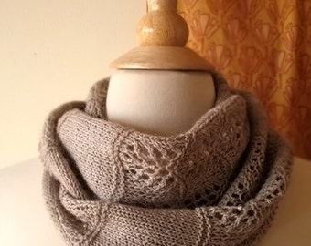 Shallows Cowl or Scarf Knitting Pattern