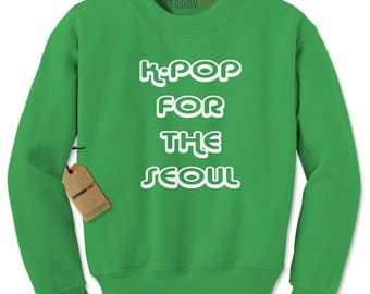K-Pop For The Seoul Adult Crewneck Sweatshirt