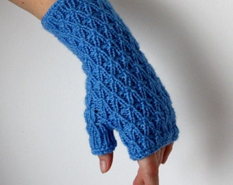 Knitting Pattern (PDF file) Frost Mitts