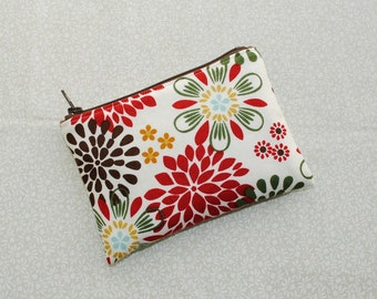 Little Zipper Pouch - Kennedy Floral