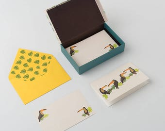 Toucan - Stationery Set