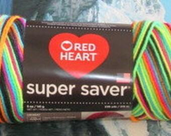 3003939 Red Heart Super Saver 5 oz Blacklight